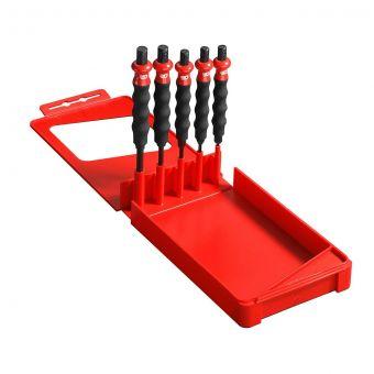 FACOM 249.GPB - 5pc Comfort Grip Parallel Drift Punch Set + Case