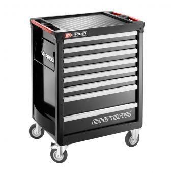 FACOM CHRONO.8GM3A - CHRONO+ 8 Drawer 3 Mod Roller Cabinet Black