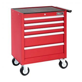 BRITOOL E010229B - Classic 5 Drawer 3 Mod Roller Cabinet Red