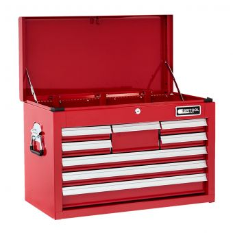 BRITOOL E010239B - Classic 8 Drawer + Lift Top Tool Chest Red