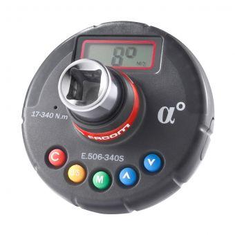 """FACOM E.506-340S - 17-340Nm 1/2"""" Square Drive Digital Torque + Angle Adaptor"""