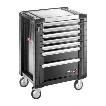 FACOM JET.7GM3 - JET+ 7 Drawer 3 Mod Roller Cabinet Black