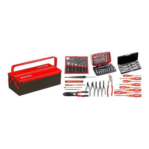 FACOM 2132.EL31 - 69pc Electricians Metric Tool Kit + Cantilever Tool Box