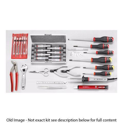 FACOM 2138.EL29 - 30pc Electricians Metric Tool Kit + Tool Bag