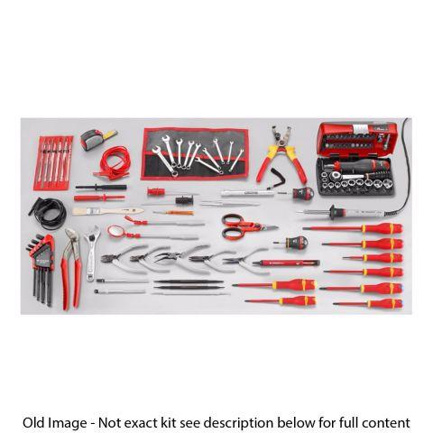 FACOM 2138.EL33 - 99pc Electricians Metric Tool Kit + Technicians Case