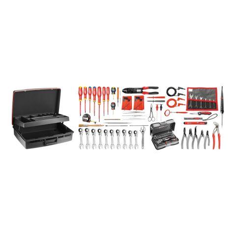 FACOM 2138.EL34 - 101pc Electricians Metric Inch Tool Kit + Technicians Case