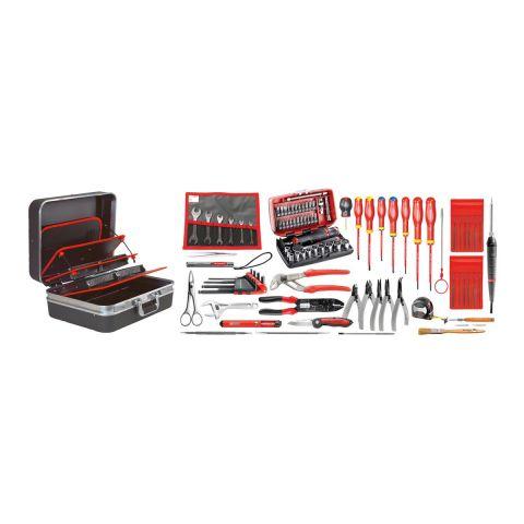 FACOM 2208.EL32 - 94pc Electricians Metric Tool Kit + Technicians Case