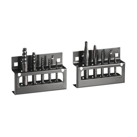 FACOM 285.JS10 - 10pc Right Hand Stud Puller + Tapered Drill Set + Racks