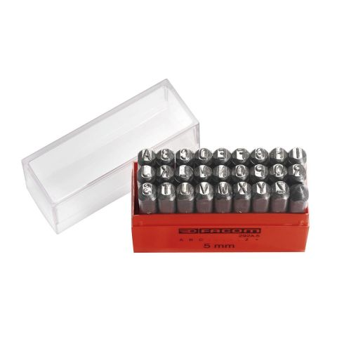 FACOM 292A.X - 26pc Letter Punches Set