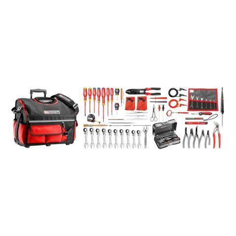 FACOM BSR20.EL34 - 101pc Electricians Metric Inch Tool Kit + Tool Bag