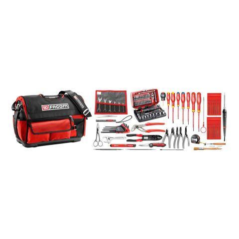 FACOM BST20.EL32 - 94pc Electricians Metric Tool Kit + Tool Bag