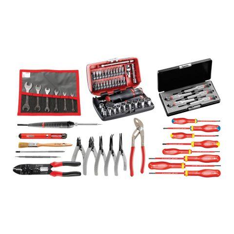 FACOM CM.EL31 - 69pc Electricians Metric Tool Kit