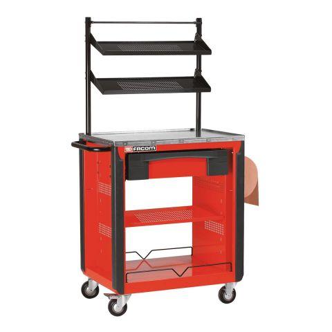 FACOM CR.T3XL - 3 Shelf + Drawer Roller Work Bench Station