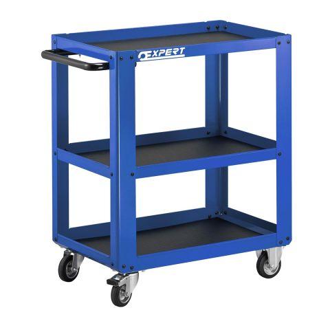 EXPERT by FACOM E010108 - 3 Metal Shelf Roller Trolley