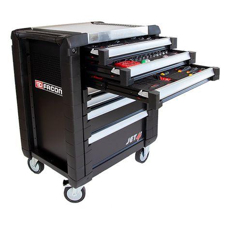 FACOM ETS.CK3 - CUSTOM 215pc Complete Tool Kit + Foaming + 6 Drawer Roller Cabinet