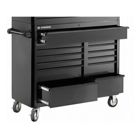FACOM FAS.13BK - USA 13 Drawer 3+2 Mod Roller Cabinet Black