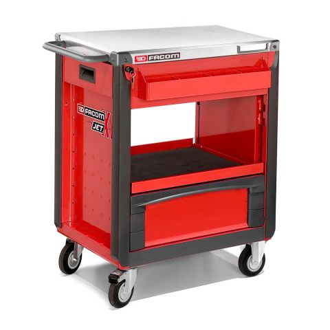 FACOM JET.3WS - 2 Drawer + Compartment Roller Work Bench