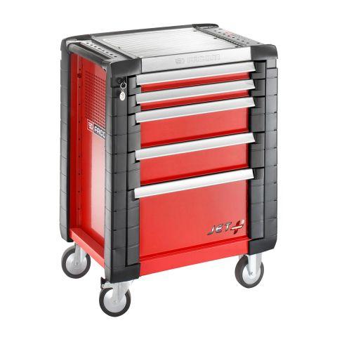 FACOM JET.5M3 - JET+ 5 Drawer 3 Mod Roller Cabinet Red