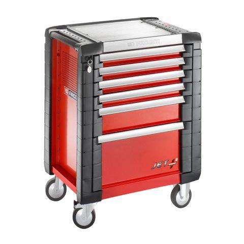 FACOM JET.6M3 - JET+ 6 Drawer 3 Mod Roller Cabinet Red