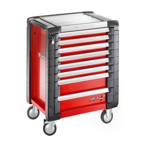 FACOM JET.8M3 - JET+ 8 Drawer 3 Mod Roller Cabinet Red