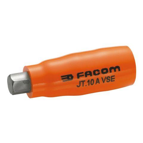 "FACOM JT.XAVSEM - Insulated 3/8"" Square Drive Metric Hex Bit Socket"