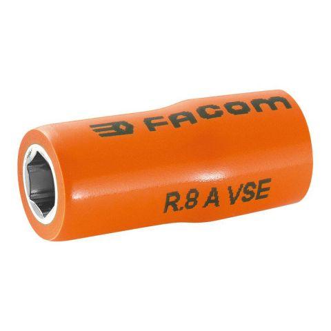 "FACOM R.XAVSEM - Insulated 1/4"" Square Drive Metric 6pt Socket"
