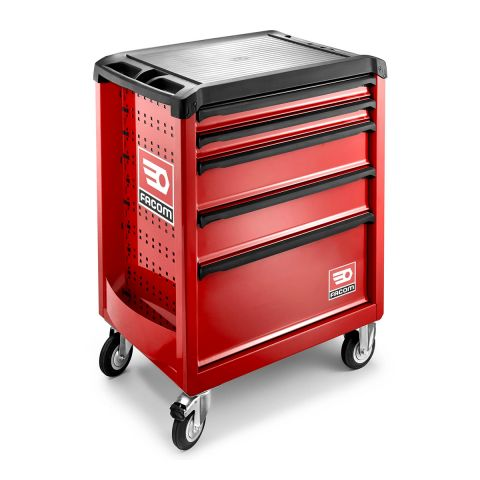 FACOM ROLL.5M3PB - ROLL+ 5 Drawer 3 Mod Roller Cabinet Red