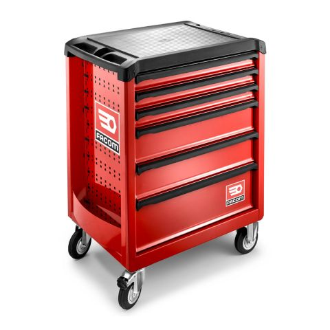 FACOM ROLL.6M3 - ROLL+ 6 Drawer 3 Mod Roller Cabinet Red