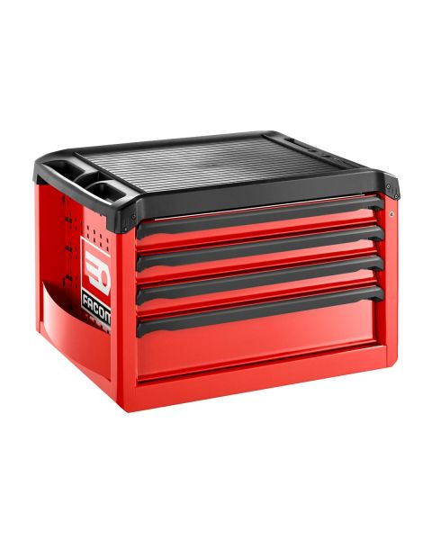 FACOM ROLL.C4M3 - ROLL+ 4 Drawer 3 Mod Tool Chest Red