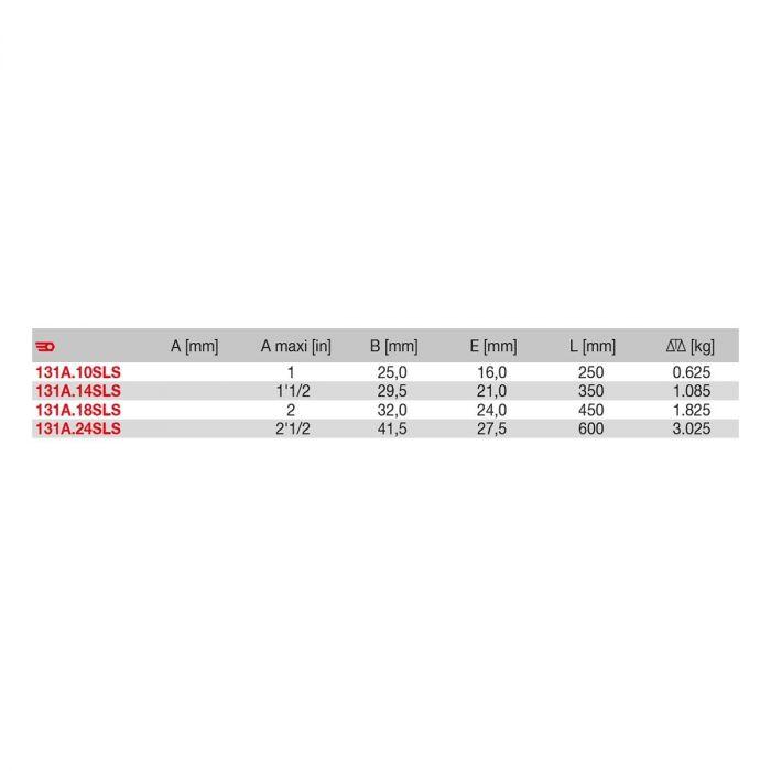FACOM 131A.XSLS - SLS Tethered Stillson Steel Body Pipe Spanner