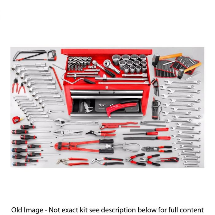 FACOM 2174.MAG5 - 160pc Agricultural Maintenance Metric Tool Kit + Tool Chest