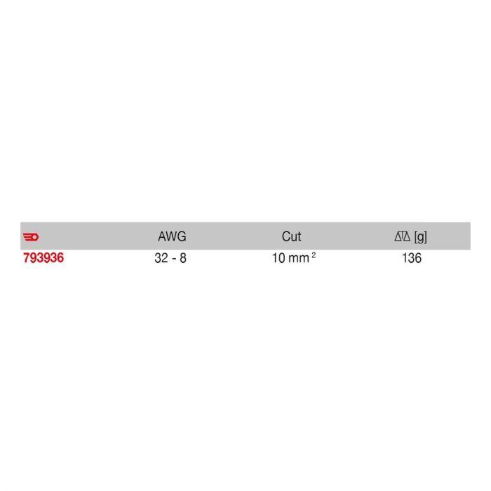 FACOM 793936PB - Swingo Straight Automatic Wire Stripper + Cutter