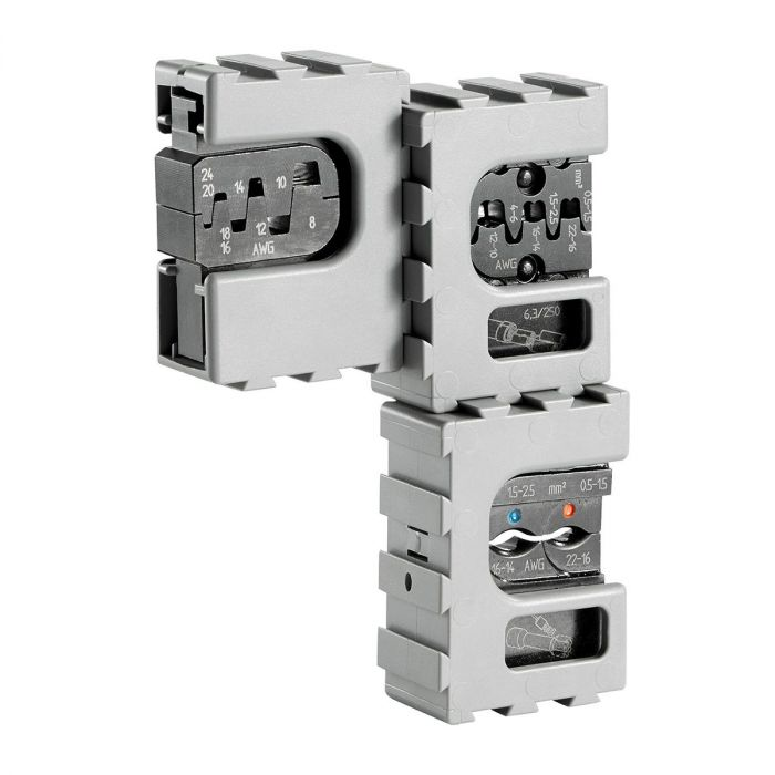 FACOM 819832PB - 5pc 3in1 Insulated Terminals Multi Die Plier Set