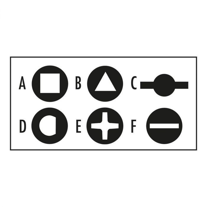 FACOM 838305PB - Electrical Cabinet 8 Way Cross Brace Key