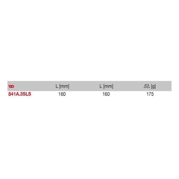 FACOM 841A.3SLS - SLS Tethered Heavy Duty Comfort Grip Scissors