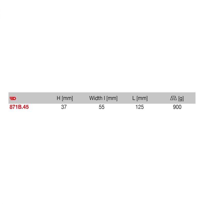 FACOM 871B.45 - Slim Wedge Sheet Metal Dollie