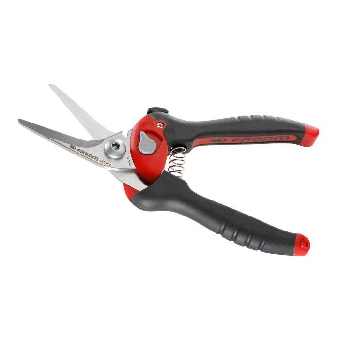 FACOM 980C - Offset Cut Comfort Grip Power Scissor Shears