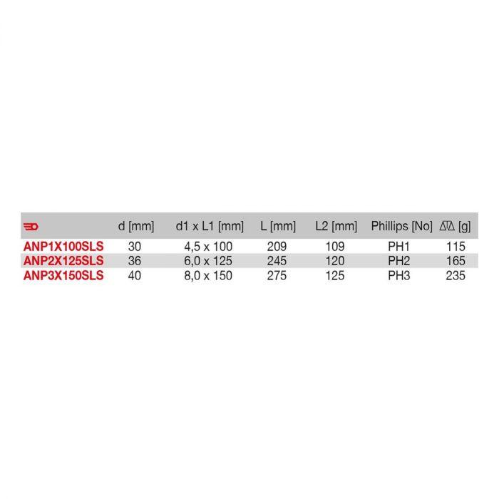 FACOM ANPXSLS - SLS Tethered Phillips Protwist Screwdriver