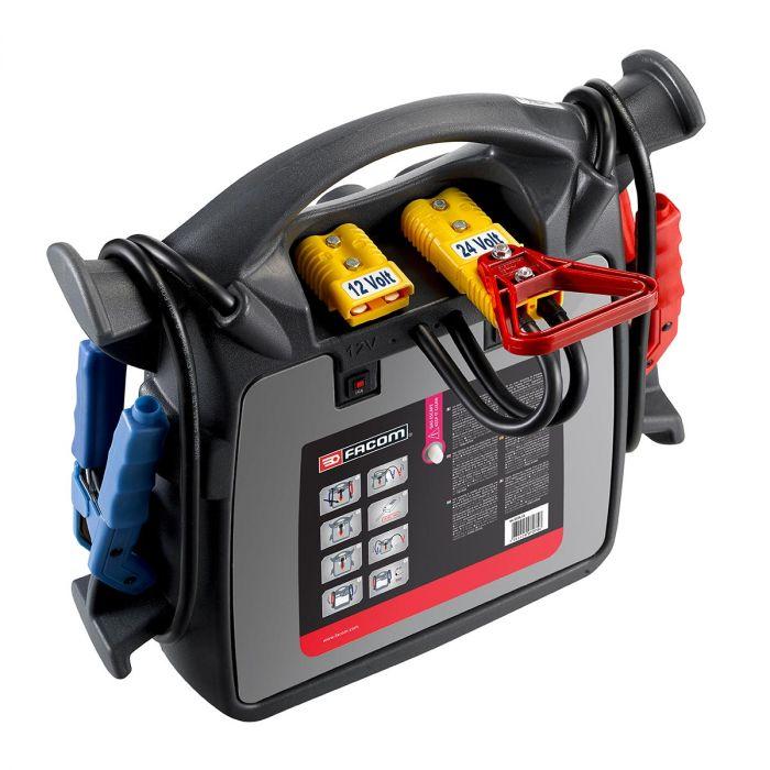 FACOM B124.1A - 12v + 24v Battery Booster + Charger