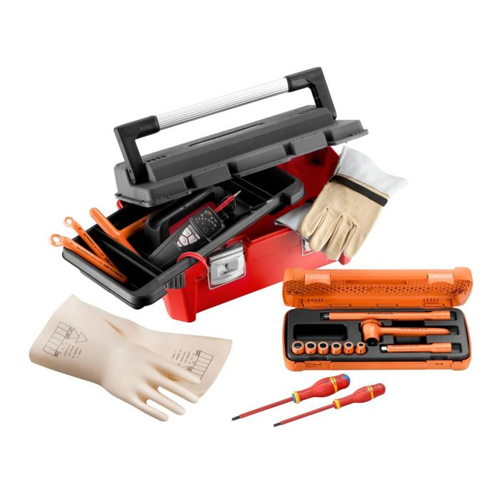 FACOM CM.HYELPB - 14pc Insulated Tool Kit + Toolbox