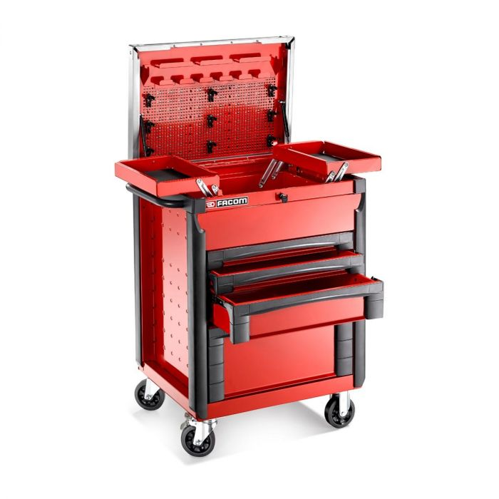FACOM CR.T4XL - 4 Drawer + Lift Top Roller Work Bench Station