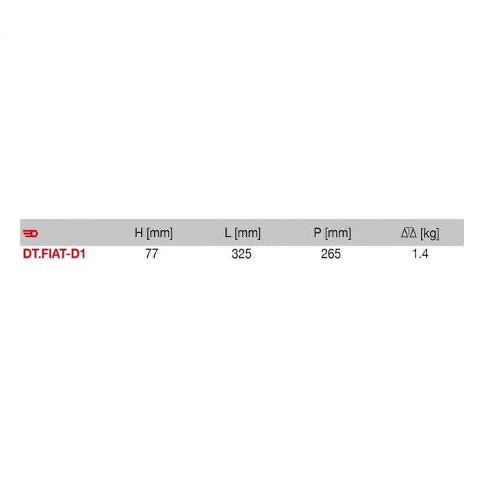 FACOM DT.FIAT-D1 - FIAT Diesel Engine Timing Kit 1 + Case