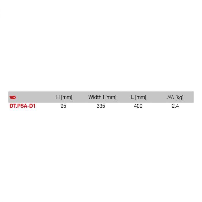 FACOM DT.PSA-D1 - PSA Diesel Engine Timing Kit + Case