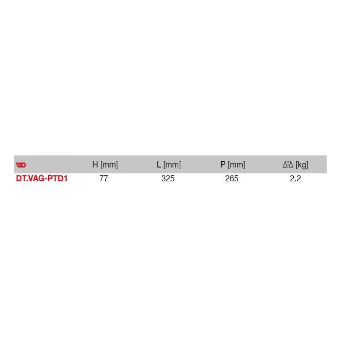 FACOM DT.VAG-PTD1 - VAG Petrol Engine Timing Kit 2 + Case