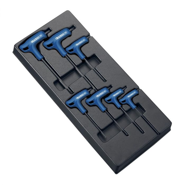 EXPERT by FACOM E121708 - 7pc Torx Comfort Grip T-Handle Key Module