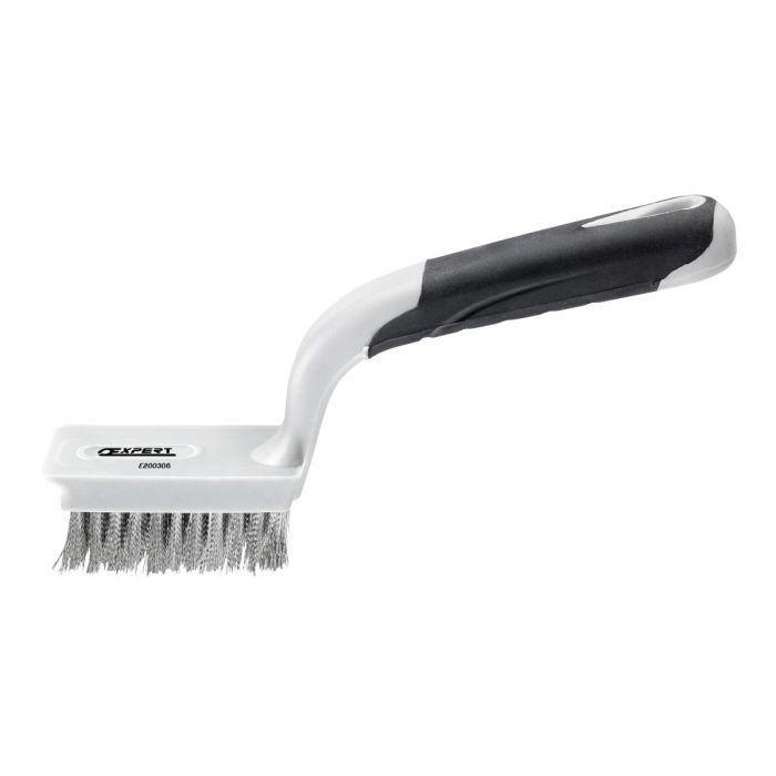 EXPERT by FACOM E200306 - Composite Handle Flat Steel Wire Brush