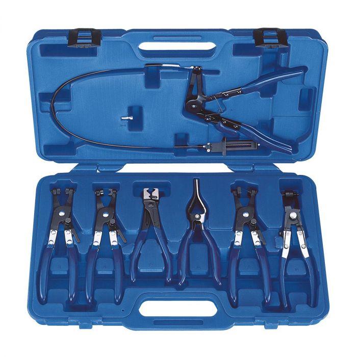 EXPERT by FACOM E200501 - 7pc Hose Clamp Plier Set + Case