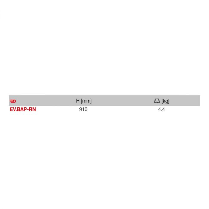 FACOM EV.BAP-RN - Safety Marker Post Red + White