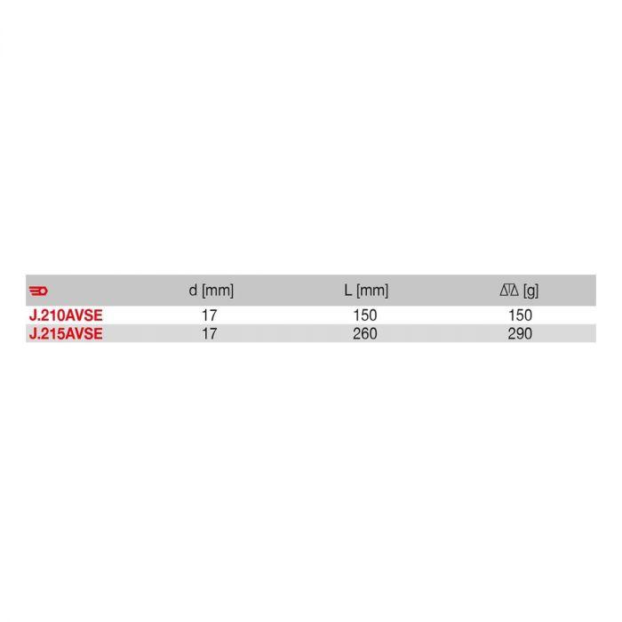 FACOM J.21XAVSE - Insulated 3/8