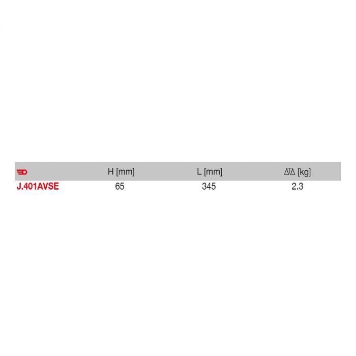FACOM J.401AVSE - 17pc Insulated 3/8